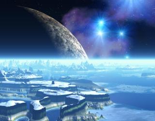 Фотообои на другой планете 20345