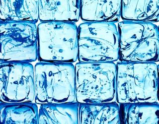 3д фотообои Ледяные кубики 8773