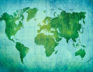 Фотообои Материки Земного шара 11866