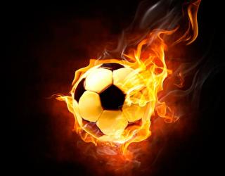 Фотообои Огненный мяч 4660