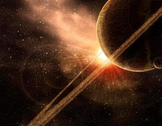 Фотообои Сатурн 19366