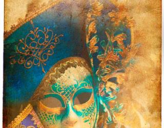 Фотообои Картнавальная маска 5348