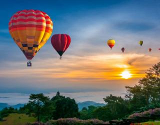 Фотообои Шары воздушные 27396