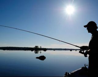Фотообои Рыбалка на реке 5940