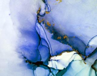 Фотообои Fluid art фиолетовый 27515