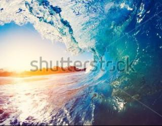 Фотообои Морская волна 345007322