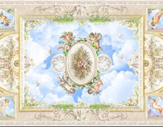 Фотообои фреска для потолка 22517