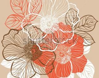 Фотообои Цветы 123279859