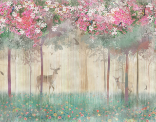 Фотообои Волшебный лес 22193