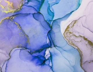 Фотообои Фиолетовый флюид арт 22871