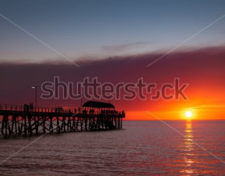 Фотообои Пирс, закат 455770606
