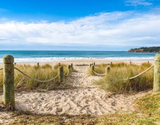 Фотообои Песочный берег моря 20763