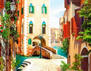 Фотообои Фреска Венеция 28171