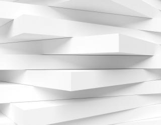Фотообои белые плиты 21014