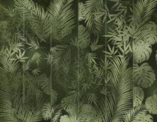 Фотообои Листья за матовым стеклом 27577