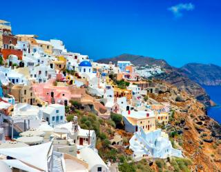 Фотообои о. Санторини, Греция 8026