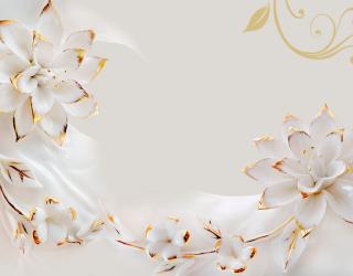Фотообои Керамические лилии 20141