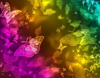 Фотообои 3d бабочки 18774