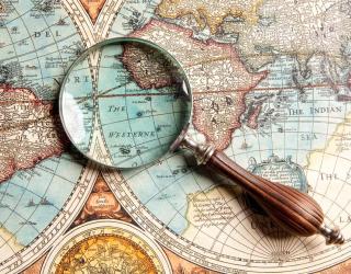 Фотообои Карта мира 13247