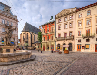 Фотообои Площаль старого города 27232