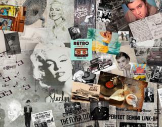 Фотообои Ретро фотообои для салона красоты 22950