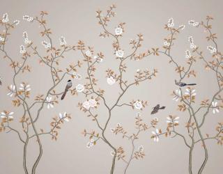 Фотообои Ветви с птицами 22101