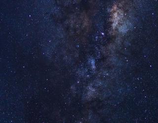 Фотообои Космическое небо 24536