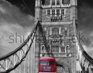 Фотообои Мост, автобус 91197401