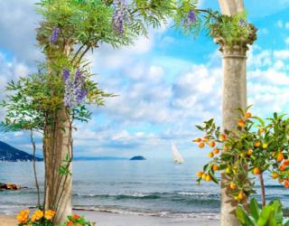 Фотообои Арка у моря 28169