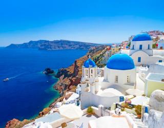 Фотообои о. Санторини, Греция 11401