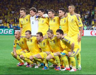 Фотообои Футбольная Сборная Украины 9021