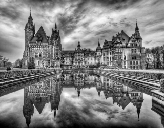 Фотообои Готичный замок 3661