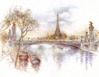 Фотообои Париж 12777