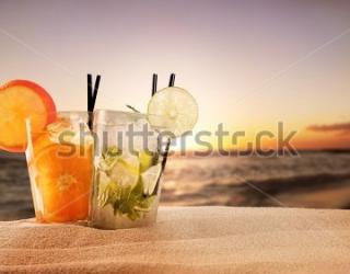Фотообои Берег, напитки 194747939