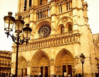 Фотообои Собор Парижской Богоматери в париже 4617