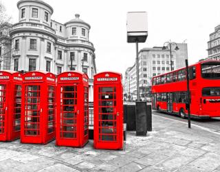 Фотообои Городской автобус, Лондон 5661