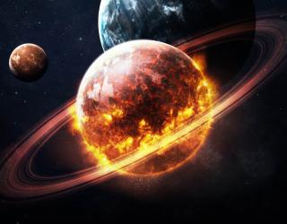 Фотообои Планеты в космосе 25221