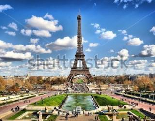 Фотообои Париж 50529796