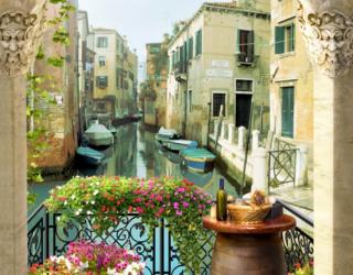 Фотообои Вид из арки на Венецию 26590