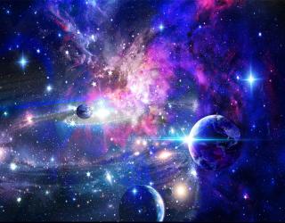 Фотообои Звёзды в космосе 29382
