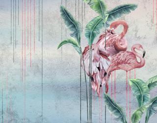 Фотообои Дизайнерские фламинго 22188