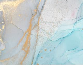 Фотообои Нежный флюид в голубом цвете 22907