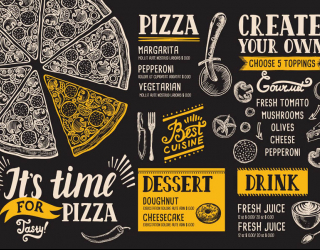 Фотообои Пицца фотообои 24858