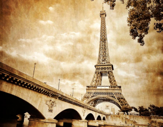 Фотообои Эйфелева башня, Париж 7075