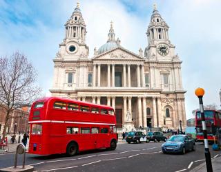 Фотообои Городской автобус, Лондон 5658