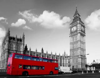Фотообои Городской автобус, Лондон 5845